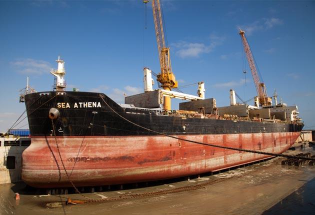 Sea Athena - Size: 189.99 x 32.3 x 18.02