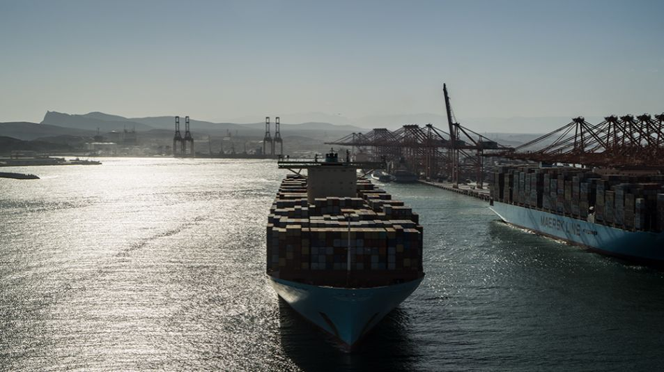 Ships Docking Sohar