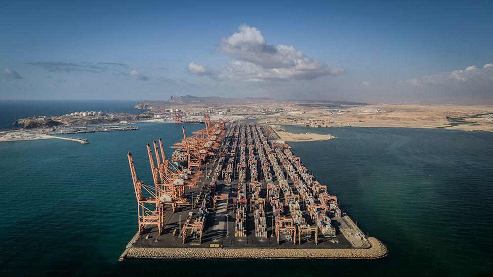 Salalah Port Overhead